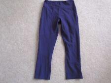 Kyodan Women's purple NOT blue cropped pants capris XS yoga cycling running