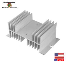 Aluminum Heat Sink 100A for Solid State Relay SSR for Wind Turbine Generator