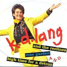 """K. D. Lang and the Reclines: Rose Garden 7"""" Vinyl"""