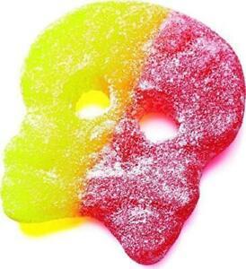 Bubs Godis Giant Fizzy Skull Sweet Scandinavian Candy