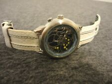 FOSSIL BIG-TIC SKELETON COLOR CHANGE DIAL S.S. QUARTZ WATCH BG-2163 - NEW BATTS
