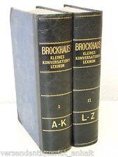 Brockhaus kleines Konversationslexikon in 2 Bänden (A - Z), 5. Aufl. (1911), HLd