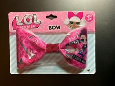 "Lol Surprise! Girl'S Satin Hair Bow ""I Rocked B4 I Could Walk"" Nip Accessory"