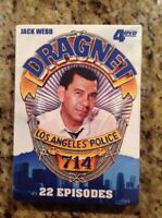 Dragnet: 22 Episodes (DVD, 2011, 2-Disc Set)NEW Authentic US RELEASE