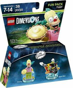 LEGO Dimensions 71227 Fun Pack The Simpsons Krusty & Clown bike BRAND NEW