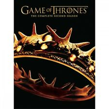 Game of Thrones: The Complete Second Season DVD, 2017, 5-Disc Set 2ND 2 TWO 57#