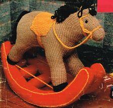 Rocking Horse toy  knitting pattern.