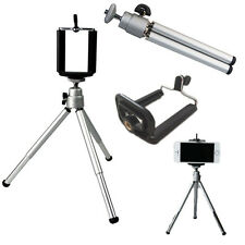 Self-timer Telescopic Tripod Mount Holder Clip For Cell Phone Family Photos