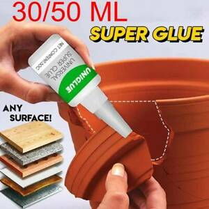 Uniglue Universal Super Glue Strong Plastic Glue 30/50ML
