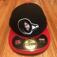 NEW New Era 59Fifty Bowling Green Hot Rods MiLB Fitted Baseball Hat 7 1/2