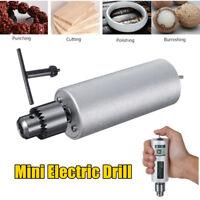 12V-24V Mini Micro Hand Portable Handheld Electric Drill Chuck Kit For Grinding