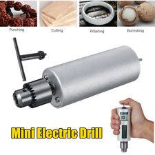 Mini Micro Hand Portable Handheld Electric Drill Chuck Kit For Grinding Cutting