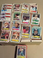 Complete Your 1983 TOPPS FOOTBALL SET EXMT/NRMT/MINT Pick 30 Point LOT
