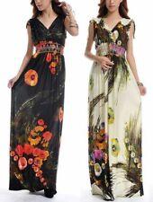 Plus Size Sleeveless Viscose Summer/Beach Dresses for Women