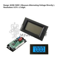 2-Wire 3 1/2 LCD AC 80-500V Digital Volt Panel Meter Voltage Power Supply