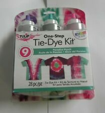 Tulip One-Step Tie-Dye Kit  28pc/pz  Paradise Punch  35185 2015  NEW   Pkge Bent