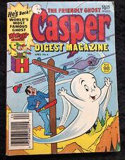 1987 Casper Digest Magazine Oct. No. 4- Harvey Comics -The Friendly Ghost