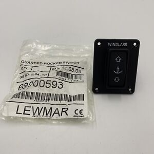 LEWMAR- Guarded Rocker Switch Mfg# 68000593