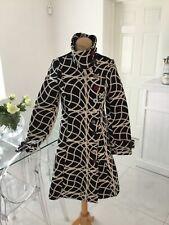 DESIGUAL black & cream designer coat size 36