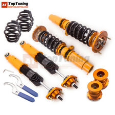 Racing Adj. Height Shock Struts For BMW 3 Series E46 Coilovers Suspension 98-05