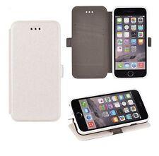 3 Book Flexi Hülle Schutzhüle Etui Tasche Cover Huawei P10 Lite Weiß