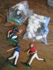 BASEBALL&BOWLING CAKE TOPPER DECORATIONS LOT OF 10+