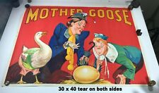 Mother Goose British Theater Poster, 1930s, Original