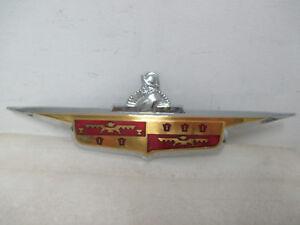 Mopar NOS 1946-48 DeSoto S-11 Trunk Medallion Ornament 1160003