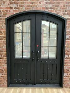 Wrought Iron - Single or Double Front Doors - The Regent