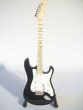 Guitare miniature Stratocaster Blackie Eric Clapton