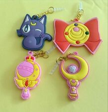 New 4PCS Sailor Moon 3.5MM Dust Anti Earphone Jack Plug for Universal Cellphone
