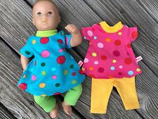 KLEIDUNG für Planscherle Badepuppe 30 cm Bambina Netty Puppenkleidung Hoodie NEU