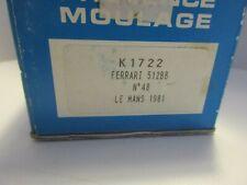 PROVENCE MOULAGE 1/43 FERRARI 512 BB #48 LE MANS 1981 KIT K 1722