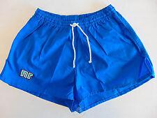 Vintage 80 ENNERRE Pantaloncini S Blu 3° Calcio Shorts Glanz Soccer NOS OS VTG