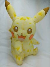 "PIKACHU 10"" Plush - Special Edition Print Tomy Pokemon Video Game Stuffed Toy"