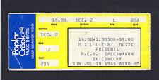 Original 1985 Reo Speedwagon concert ticket stub Poplar Creek Take It on the Run