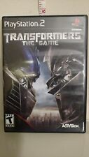 Transformers The Game Sony PlayStation 2 2007 with original insert booklet! L@@K