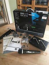 AKG WMS470 D5 SET Wireless Vocal Mic HT470 SR470