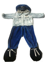 Plush Policeman Costume Chrisha Playful Plush unisex Child Age 2+ Halloween