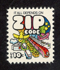 1511 Mail Transport (Zip Code) US Single Mint/nh (Free shipping offer)