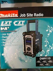 Makita »DMR110« Baustellenradio (DAB, DAB+ und FM, Mit Mini-USB für Software