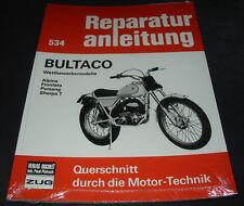 Reparaturanleitung Bultaco Wettberwerbsmodelle Alpina Frontera Pursang Sherpa T!