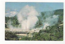 Geyser Field Whakarewarewa Rotorua New Zealand Postcard 428a