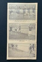 1926 Newspaper Clipping CELTIC PARK SPORTS, BELFAST - ATHLETICS, CYCLE RACING