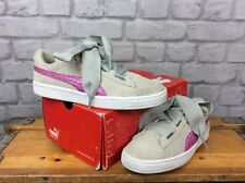 83f51ac756d75c PUMA LADIES UK 5 EU 38 BASKET HEART VELVET HYPER EMBROIDERED FLORAL TRAINERS