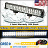 20inch 126W CREE Led Light Bar Spot Flood Work Driving Truck ATV Fog Offroad 4WD