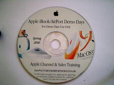 Apple Demo Days Spring 2000 - iBook / Airport Demo Day CD