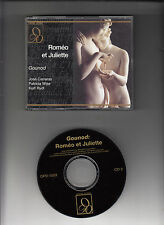 GOUNOD-ROMEO ET JULIETTE-CARRERAS/WISE RARE LIVE 1983-2 CD ALLEGO OPERA SET VG+