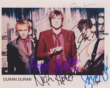 Duran Duran Signed Autographed 10x8 Repro Photo Print Simon Le Bon