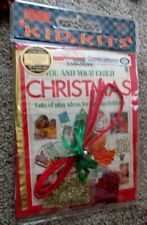 Usborne Kids Kits You and Your Child Christmas Play Craft Ideas New
